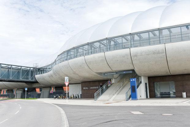 ILIS - Produkte Leitsystem im Bahnhof Belval-Université in Luxe