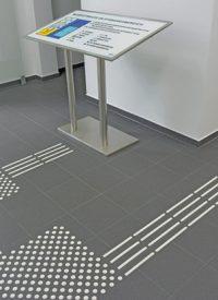 Eingangsbereich in Indoor PU Standard weiß