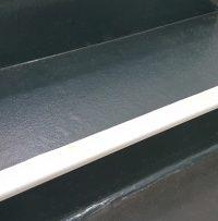 Taktile Treppenmarkierungen zur Nachrüstung