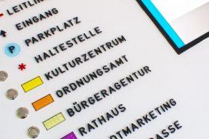Detailansicht Sprachausgabe und Monitor