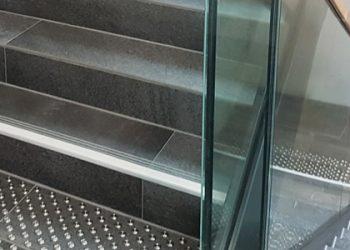 Treppenmarkierungen