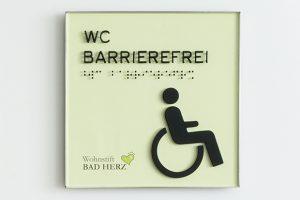 ILIS economy line WC Barrierefrei